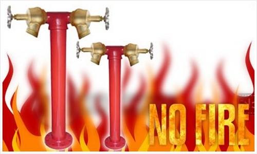 Instalação de hidrantes