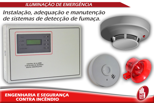 Manutenção de alarme de incêndio sp