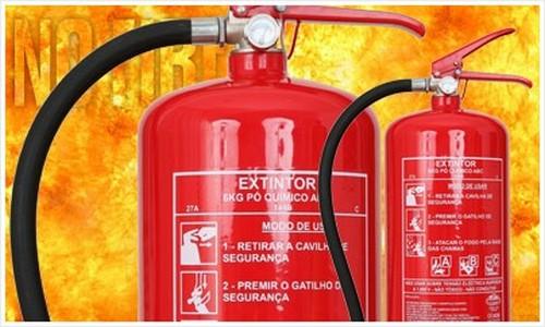 Manutenção central de alarme de incêndio