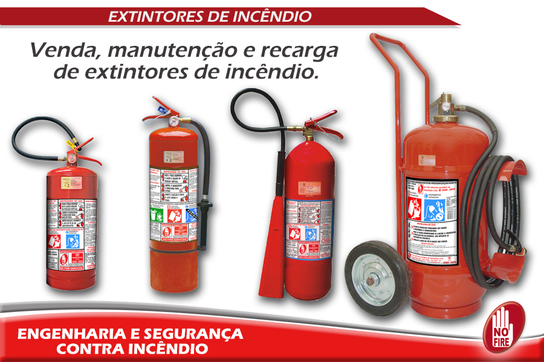 Recarga de extintores de incêndio sp