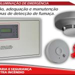 Instalação de detector de fumaça