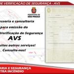 Auto de verificação de segurança (avs)
