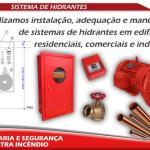 Empresa de instalação de hidrantes