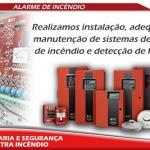 Manutenção central de alarme de incendio